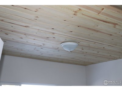 Custom ceiling in Bedroom1