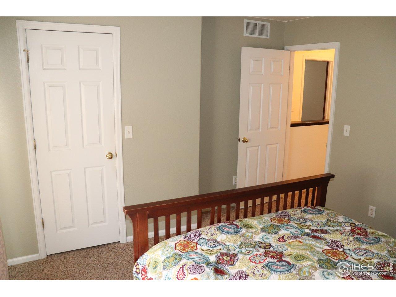 Walk-in Closet Entrance