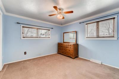 LARGE Upstairs Bedroom. Connects To Full Bath.
