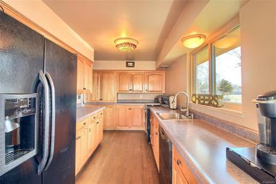 Modern Kitchen - Ample Cabinets & Countertop Space!