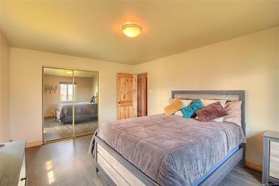 Upper Level Bedroom #1 - Beautiful Floors & Doors - Large & Sunny!