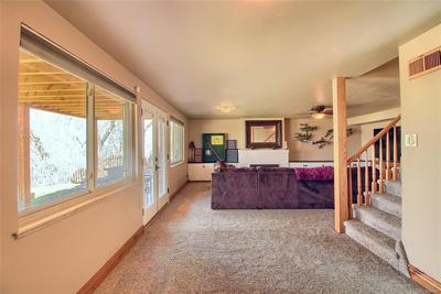 New Carpet Throughout Garden Level - French Doors Have Blinds Built Into Them.