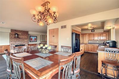 Kitchen Open To Dining Room & Family Room!