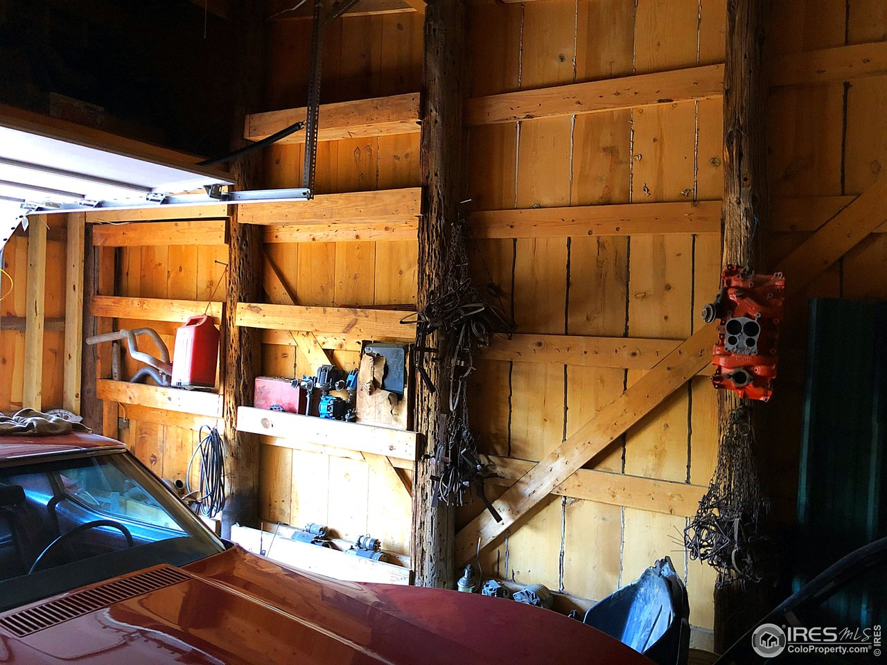 Southern Exposure. Metal Roof on Garage.