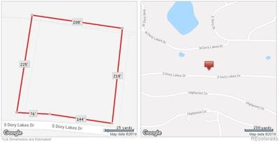 Approximate lot lines for lot 14