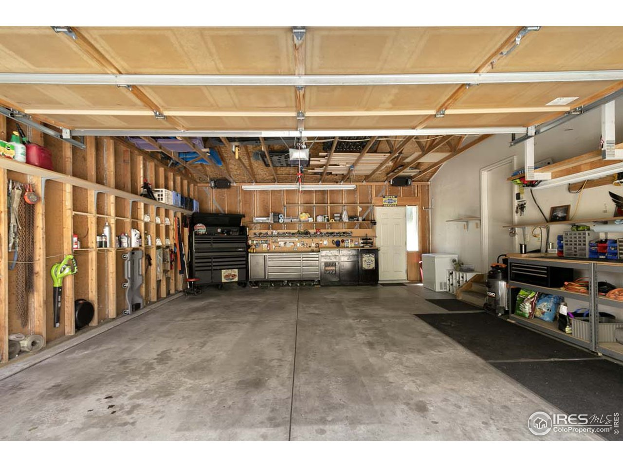 Toolboxes, tools, all items in garage excluded