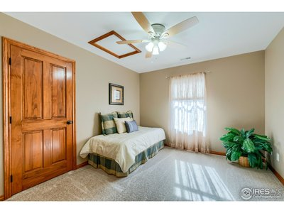 Bed room in the middle of the house