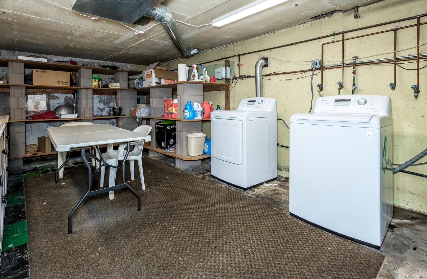 Spacious Laundry Room with plenty of additional storage