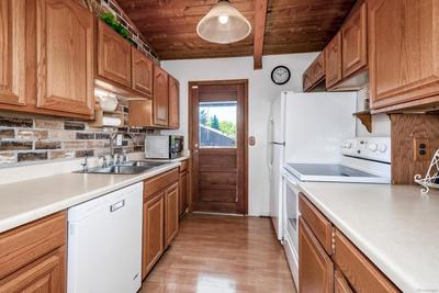 Kitchen with newer cabinets