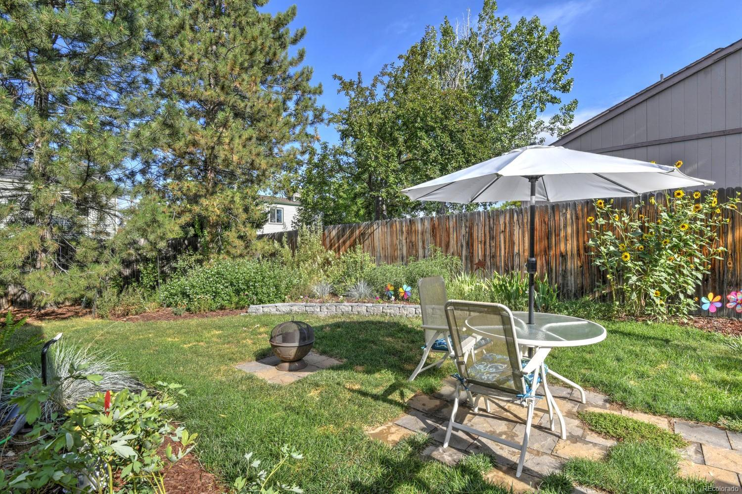 Privacy Fence surrounds the property