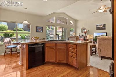 Pretty hardwood floors, this home is immaculate.