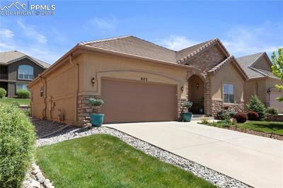 Oversized 2-car garage, stucco/stone exterior, tile roof and low-maintenance living makes it easy to move in and enjoy.