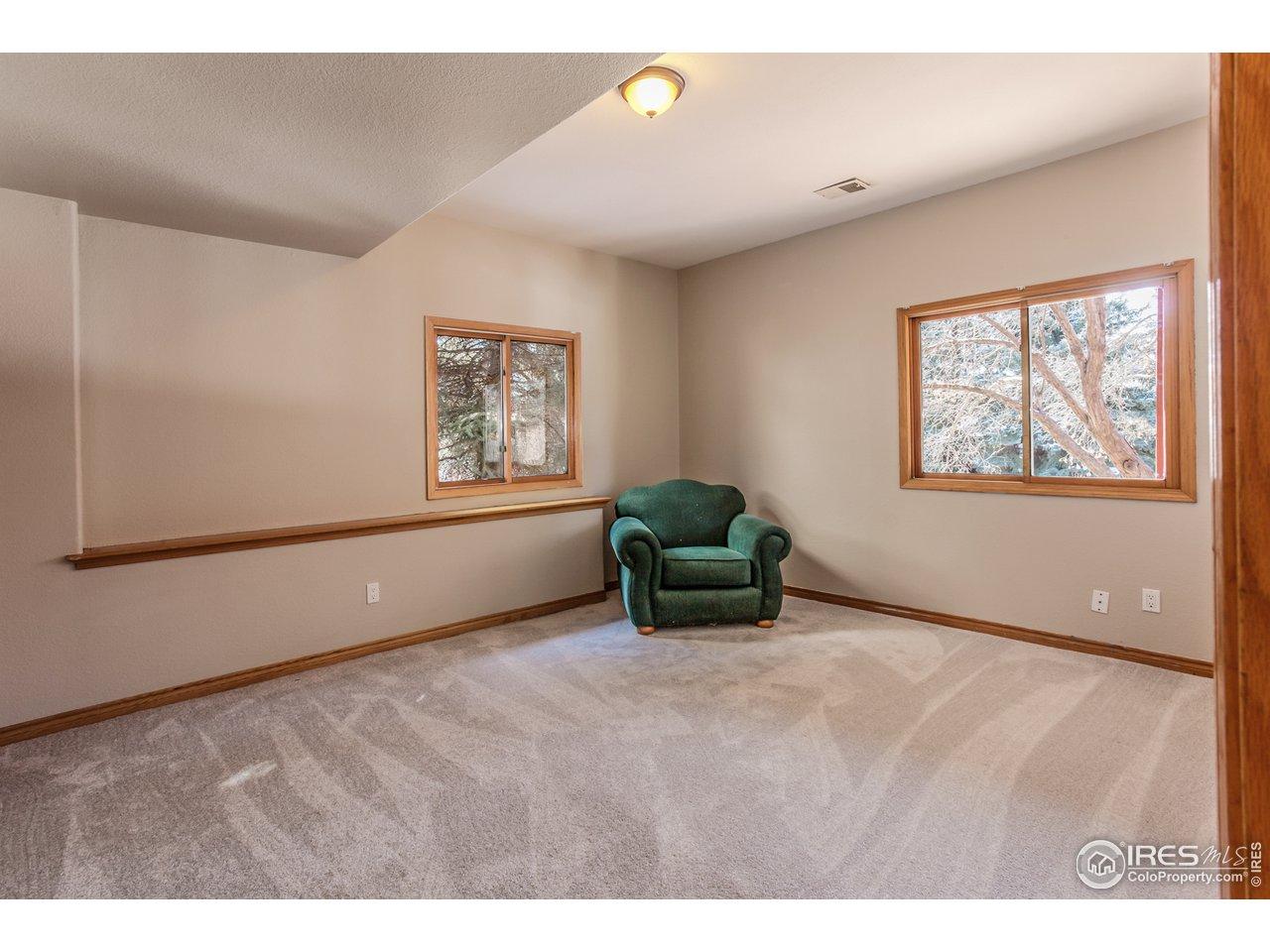 4th bedroom - basement