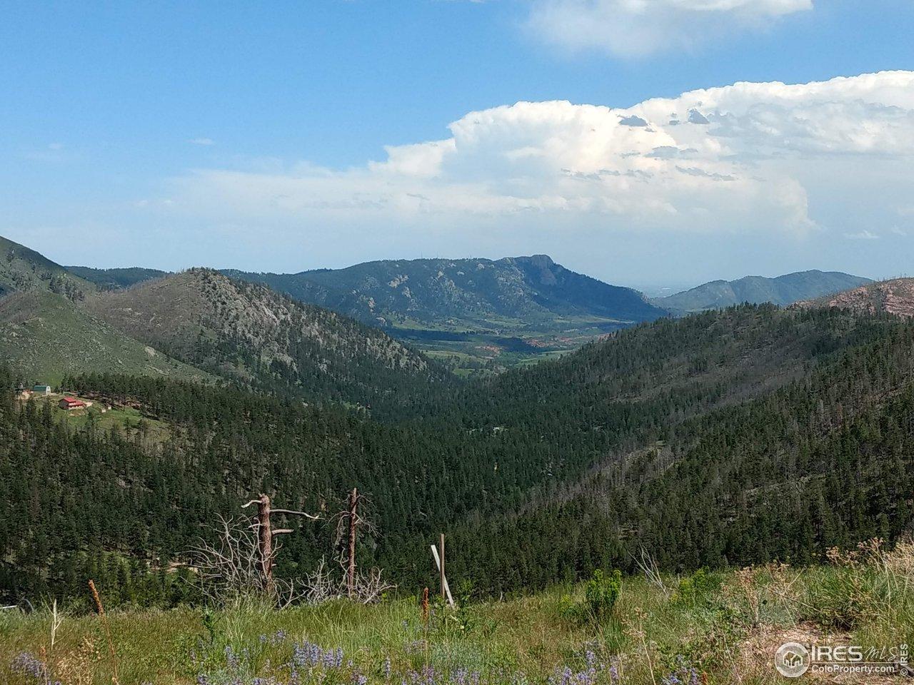 Panoramic View  Horsetooth Rock