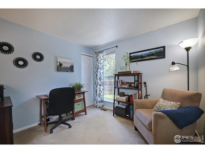 2nd bedroom with large closet