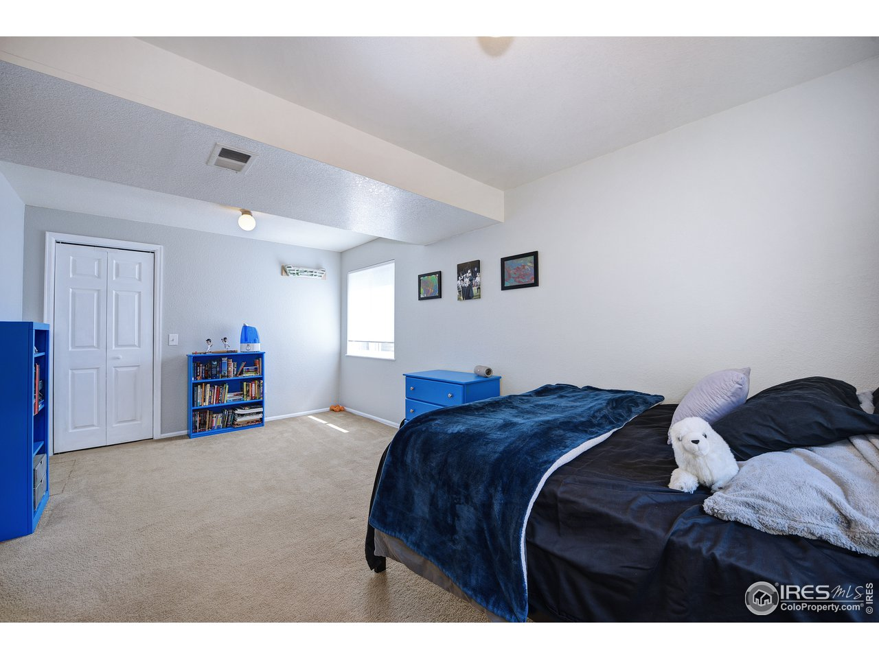 4th bedroom with HUGE closet
