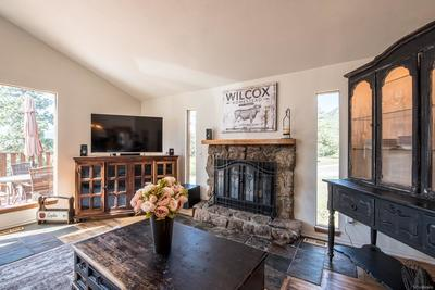 Imagine hearing the crackle of your wood-burning fireplace in the wintertime!