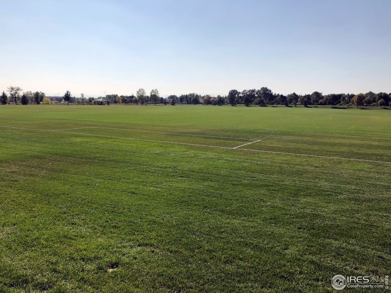 Soccer fields, trails