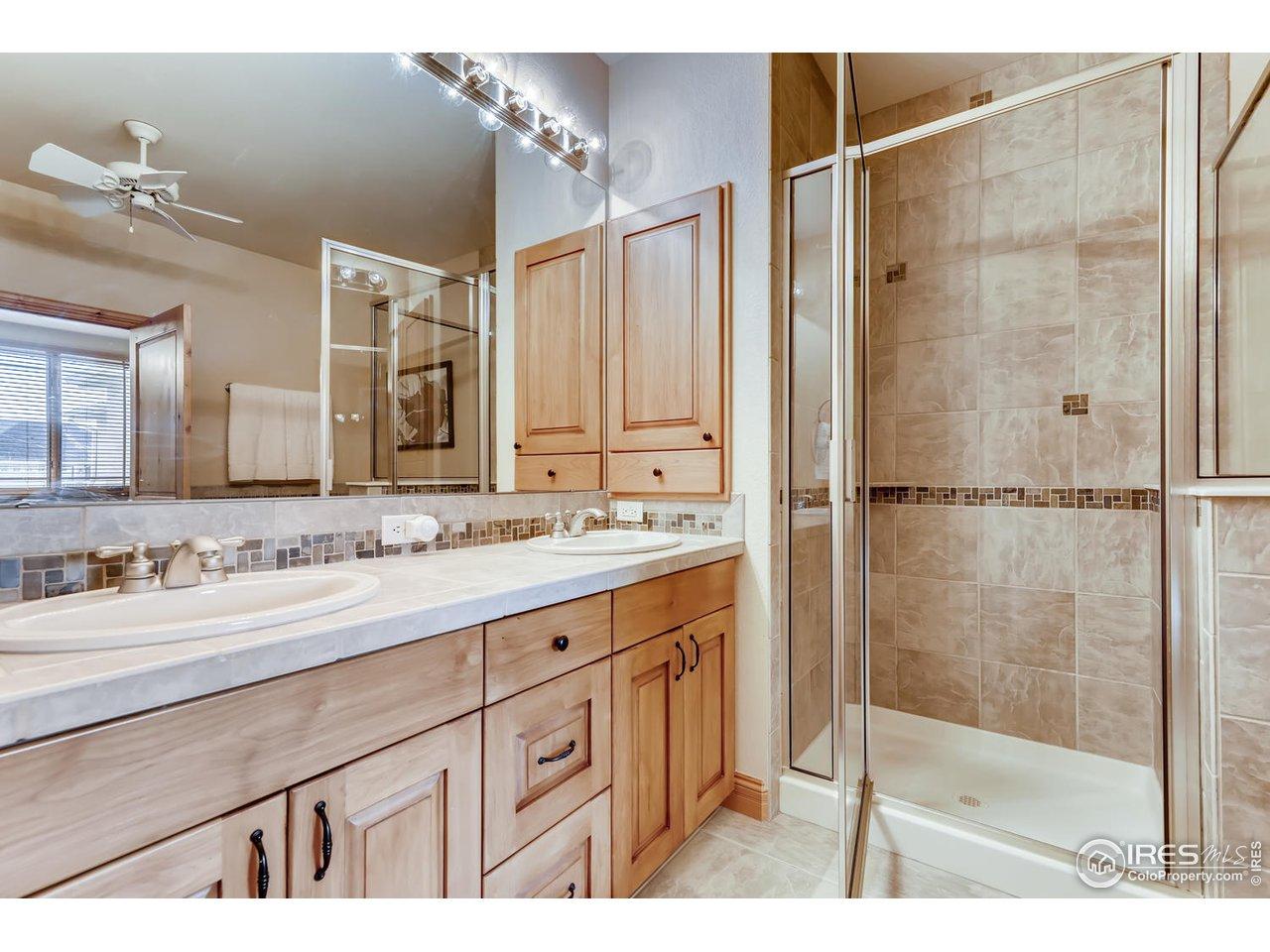 Master Bathroom - Shower & Soaking Tub