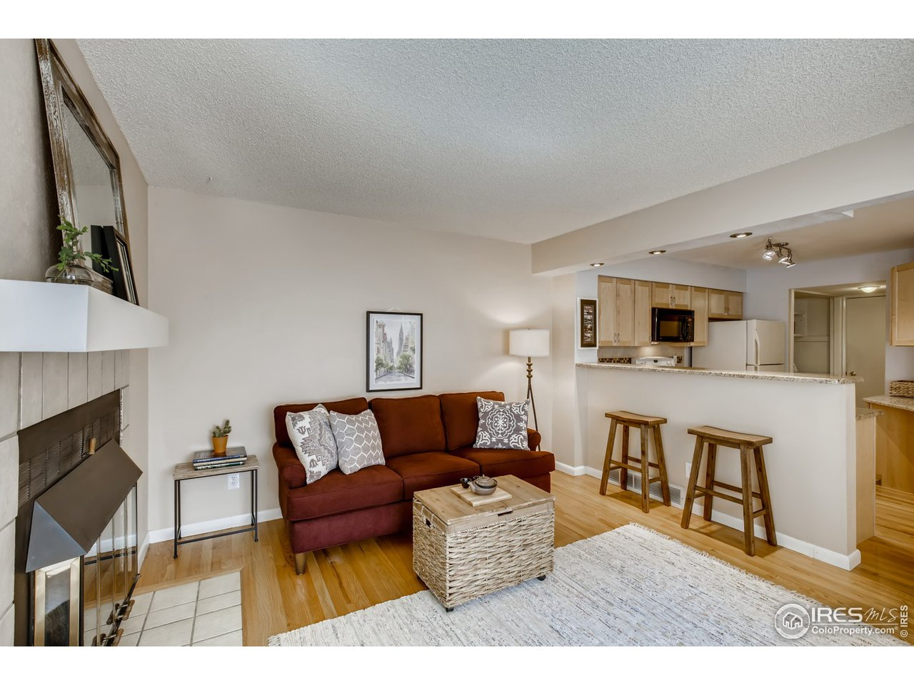 Living Room at Entrance