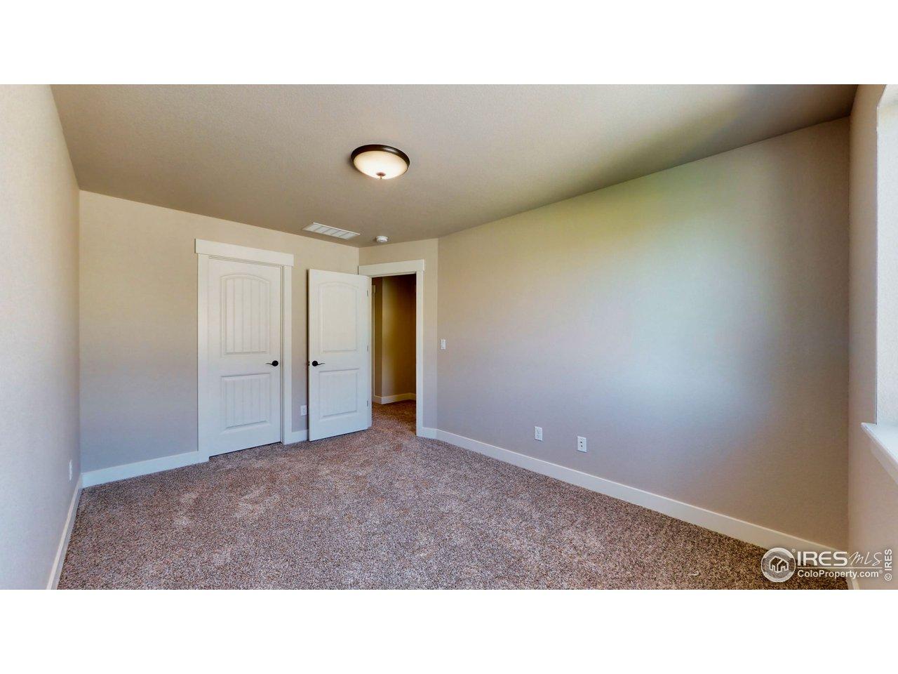 2nd Bedroom has walk in closet