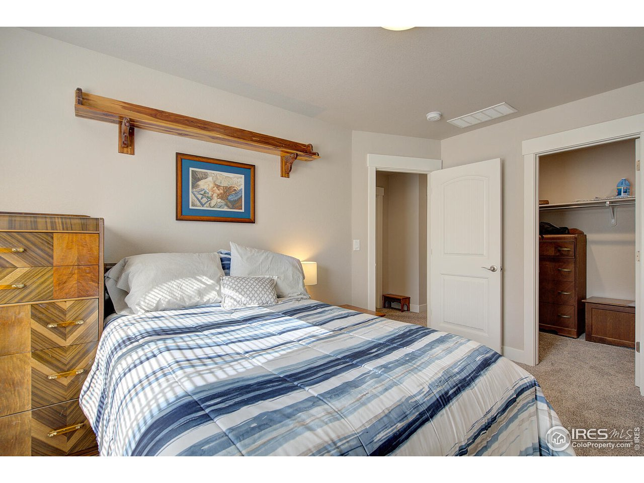 2nd Bedroom also has large walk in closet