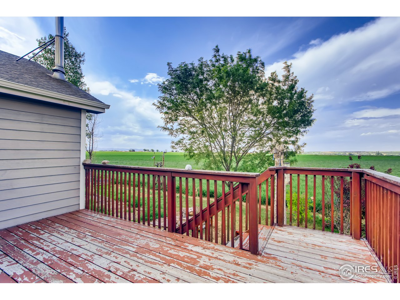 Back Deck with Awesome Views and Open Space.