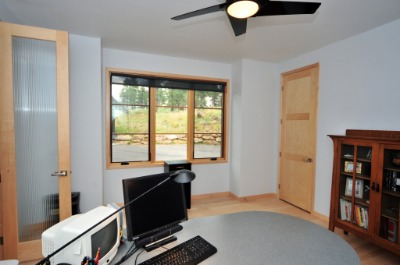 Executive office and/or bedroom with large closet