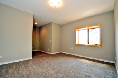 Walk out just finished, brand new carpet & paint!