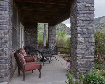 Lower patio
